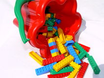 Building blocks 1. A children building blocks toy Stock Image