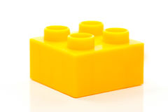 Building Blocks. Toy building blocks isolated against a white background stock photography