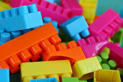 Building blocks. A colorful background of building blocks stock photos