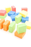 Building with Blocks Royalty Free Stock Photos