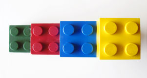 Building blocks. Colorful building blocks Stock Photos