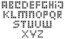 Building Blocks Alphabet Stock Photos