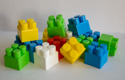 Building blocks Royalty Free Stock Images
