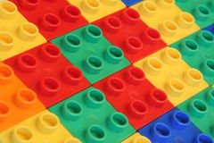 Building blocks background Royalty Free Stock Photos