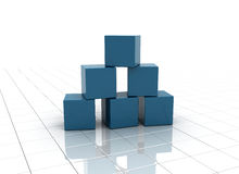 Building blocks concept Royalty Free Stock Photos