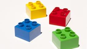Building blocks isolated Stock Image