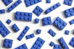 Building Blocks Similar To Legos Blue