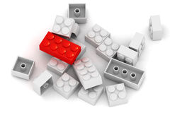 Building Blocks - Standing out Stock Photos