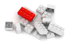 Building Blocks - Standing out Stock Image