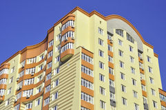 Building and blu sky Stock Photography