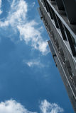 Building and Blue Sky in Bangkok Royalty Free Stock Photo