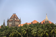 Building of Bombay High Court in Mumbai, India Stock Images