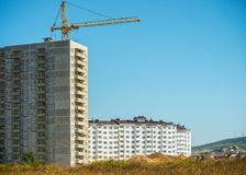 Building boom Royalty Free Stock Images