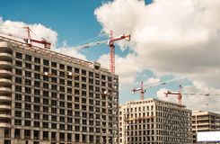 Building boom Royalty Free Stock Image