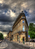 A building in Bordeaux city center Royalty Free Stock Images
