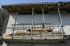 Building in Borgo Somp Cornino Stock Photography