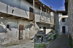 Building in Borgo Somp Cornino Stock Photo