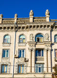 Building on Boulevard Stefan cel Mare Royalty Free Stock Photography