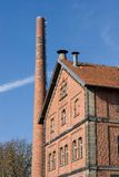 Building with brick masonry - historical brewery Stock Photos