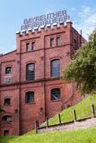 Building with brick masonry - historical brewery Stock Photography