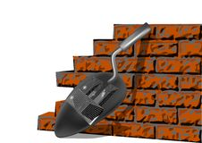 Building brick wall Royalty Free Stock Photos