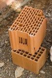 Building bricks Stock Image