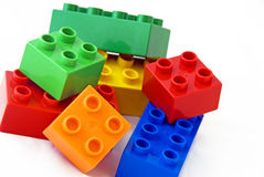 Building bricks Royalty Free Stock Photography