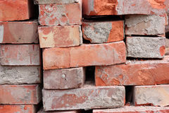 Building bricks background Royalty Free Stock Images