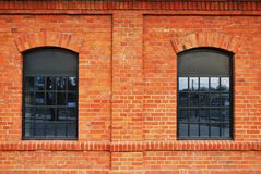 Building bricks. Houses, a combination of modernity and history, classic buildings, modern buildings, buildings in Warsaw, buildings of city stock photo