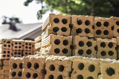Building bricks Royalty Free Stock Photos