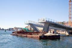 Building of bridge is in city Copenhagen Stock Photos