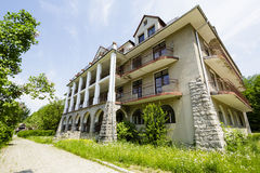 The building of Bristol Hotel in Zakopane, Poland Royalty Free Stock Image