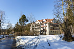 The building of Bristol Hotel in Zakopane Royalty Free Stock Photo