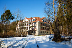 The building of Bristol Hotel, Zakopane in Poland Royalty Free Stock Photography