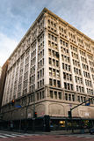 Building on Broadway in the Jewelry District, in downtown Los An Royalty Free Stock Photos