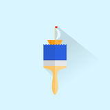 building brush icon Royalty Free Stock Photography