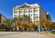 The building in Budapest Royalty Free Stock Photography