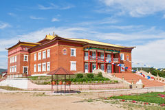 Building of Buddhist monastery Stock Image