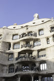 Building built by Gaudi ,Barcelona Stock Image