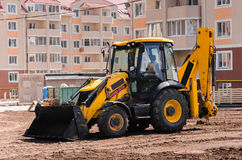 Building bulldozer Royalty Free Stock Image