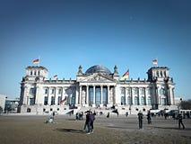 Building of Bundestag in Berlin Stock Photos