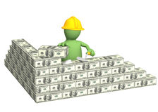 Building business Royalty Free Stock Image