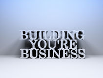 Building business Stock Image