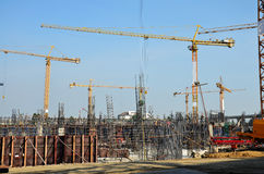 Building Business construction at Thailand Stock Photography