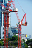 Building Business construction at Thailand Stock Photo