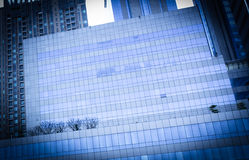 Building business, Corporate building, glass office buildings Stock Image