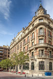 Building on Cale Nueva in Pamplona,Spain Royalty Free Stock Photography