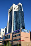Building called SEVENTH CONTINENT in Astana Stock Photo