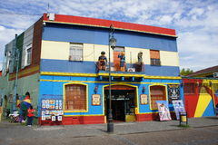 Building in Caminito, La Boca, Buenos Aires Stock Photography