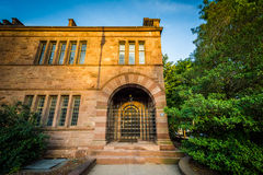 Building on the campus of Yale University, in New Haven, Massach Stock Image